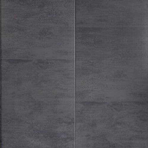 Proplas Anthracite Large Tile 2.7m x 400mm PVC Wall Panelling