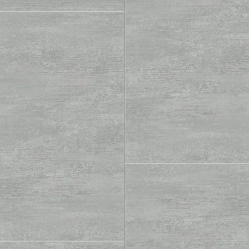 Proplas Smoked Grey Large Tile 2.7m x 400mm PVC Wall Panelling