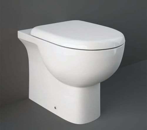 RAK-Tonique Back to Wall Pan With Soft Close Seat