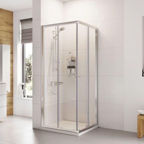 Roman Haven 900mm Twin Door Corner Entry Shower Enclosure