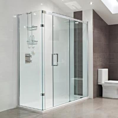Roman Haven Sliding Shower Doors