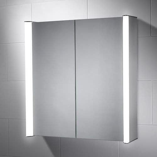 Sensio Aspen Double Door Diffused LED Mirror Cabinet 700mm x 700mm