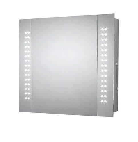 Sensio Finlay LED Mirror Cabinet 600mm x 650mm