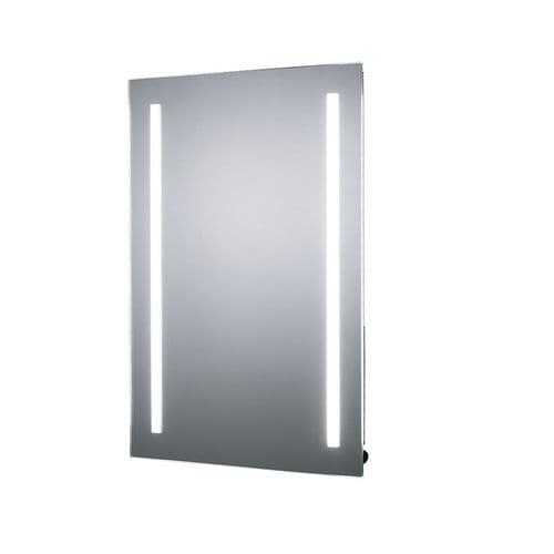 Sensio Gina Battery Operated Diffused LED Mirror 700mm x 500mm