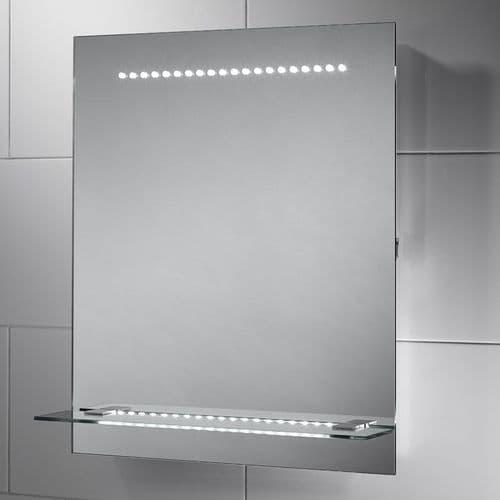 Sensio Nyla LED Mirror With Shelf 600mm x 500mm