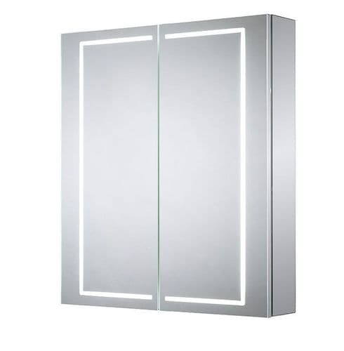 Sensio Sonnet Double Door Diffused LED Mirror Cabinet 700mm x 600mm