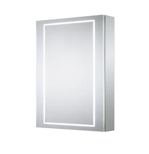 Sensio Sonnet Single Door Diffused LED Mirror Cabinet 700mm x 500mm