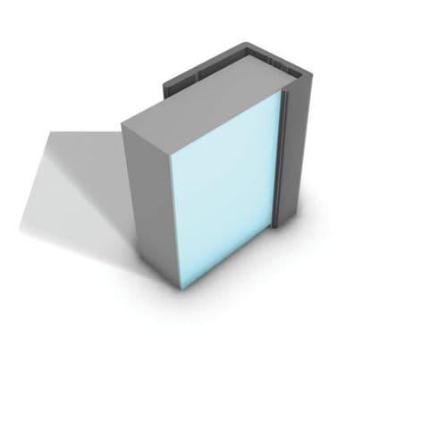 Showerwall Aluminium End Cap