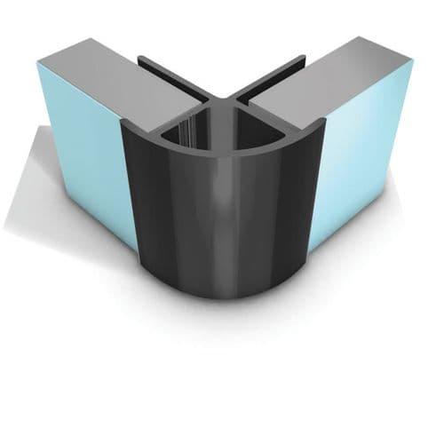 Showerwall Aluminium External Corner