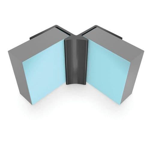 Showerwall Aluminium Internal Corner