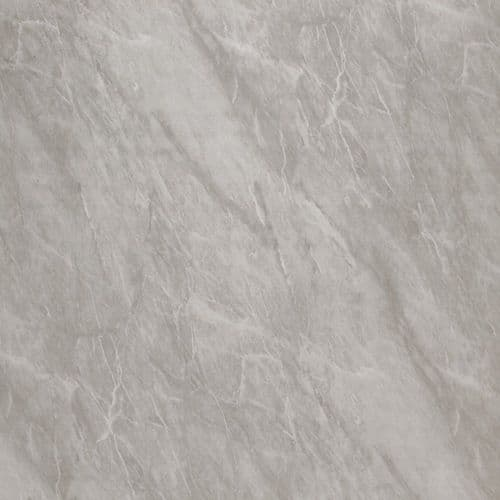 Splashpanel Light Grey Marble  PVC  1000mm Shower Wall Panel