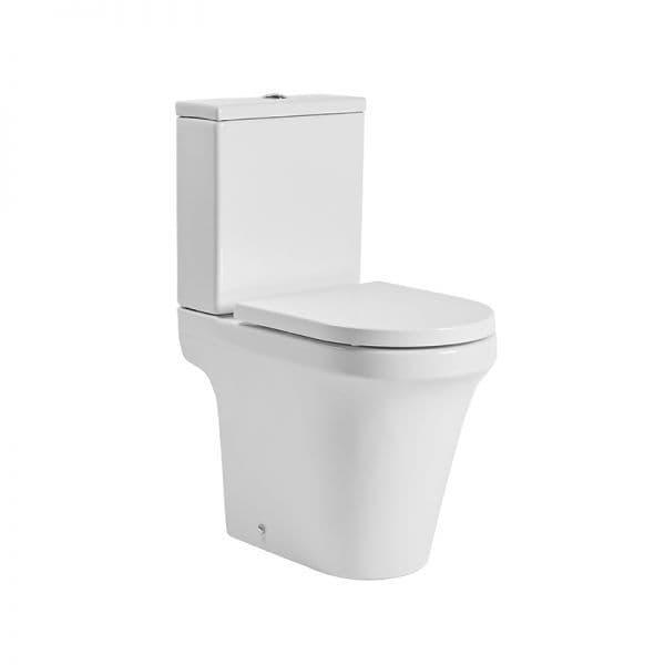 Tavistock Aerial Comfort Height Close Coupled WC Pan, Cistern & Soft Close Seat