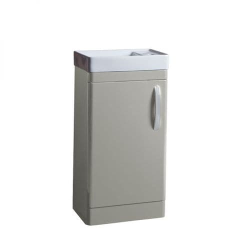 Tavistock Compass 450mm Cloakroom Unit Gloss Light Grey