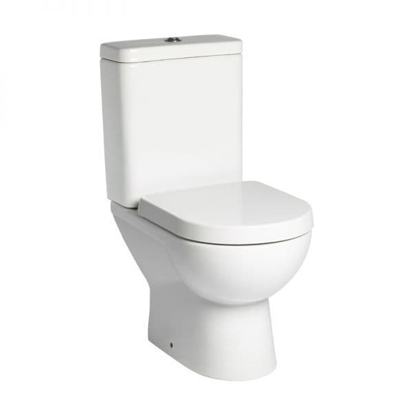 Tavistock Ion Close Coupled WC Pan, Cistern & Soft Close Seat