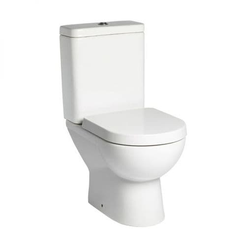 Tavistock Ion Close Coupled WC Pan, Cistern & Soft Close Seat