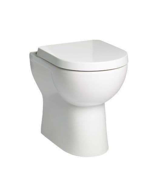 Tavistock Ion Comfort Height Back To Wall WC & Soft Close Seat