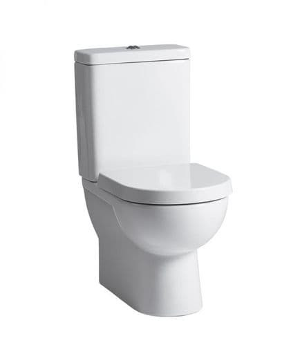 Tavistock Ion Fully Enclosed Close Coupled WC Pan, Cistern & Soft Close Seat
