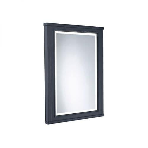 Tavistock Lansdown 450mm Framed Illuminated Mirror Matt Dark Grey