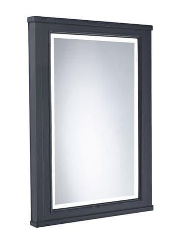 Tavistock Lansdown 600mm Framed Illuminated Mirror Matt Dark Grey
