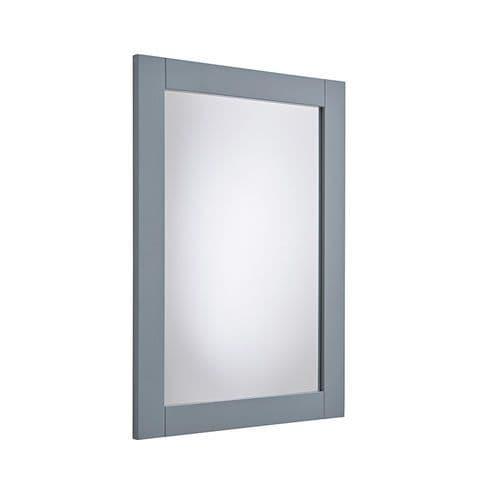 Tavistock Lansdown 600mm Framed Illuminated Mirror Mineral Blue