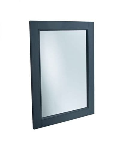 Tavistock Lansdown Wooden Mirror Matt Dark Grey