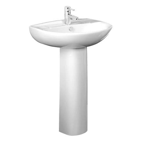 Tavistock Micra 565mm Basin and Pedestal