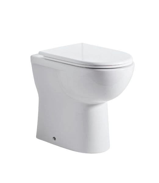 Tavistock Micra Comfort Height Back To Wall WC & Soft Close Seat