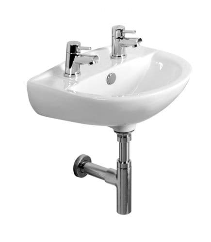 Tavistock Micra Two Tap Hole 450mm Basin