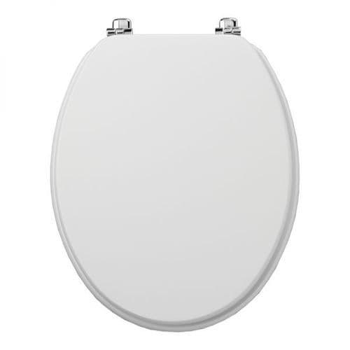 Tavistock Millennium White Traditional Toilet Seat