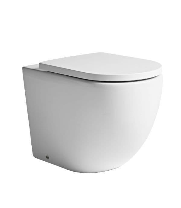 Tavistock Orbit Back To Wall WC & Soft Close Seat
