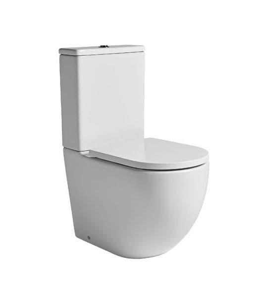 Tavistock Orbit Fully Enclosed Close Coupled WC Pan, Cistern & Soft Close Seat