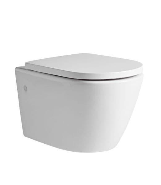 Tavistock Orbit Wall Hung WC & Soft Close Seat
