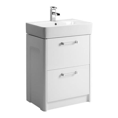 Tavistock Q60 Basin Unit Gloss White