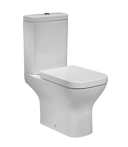 Tavistock Structure Close Coupled WC Pan, Cistern & Soft Close Seat