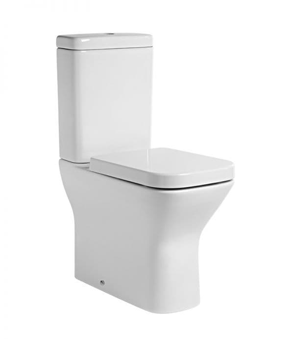 Tavistock Structure Comfort Height Fully Enclosed Close Coupled WC Pan, Cistern & Soft Close Seat