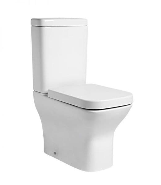 Tavistock Structure Fully Enclosed Close Coupled WC Pan, Cistern & Soft Close Seat