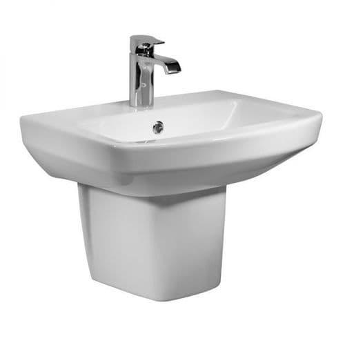 Tavistock Vibe 460mm Basin & Semi Pedestal
