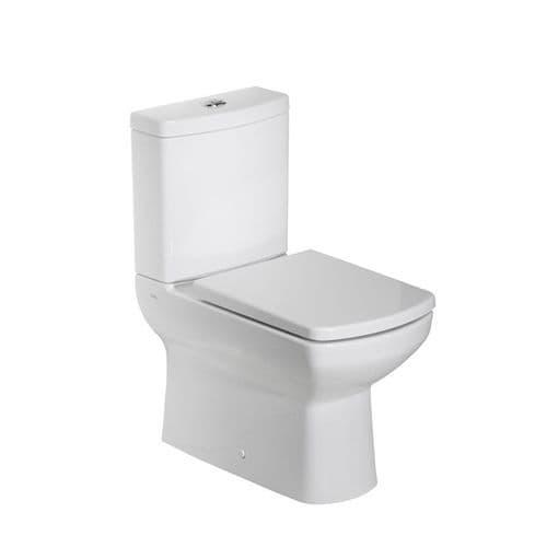 Tavistock Vibe Fully Enclosed Close Coupled WC Pan, Cistern & Soft Close Seat