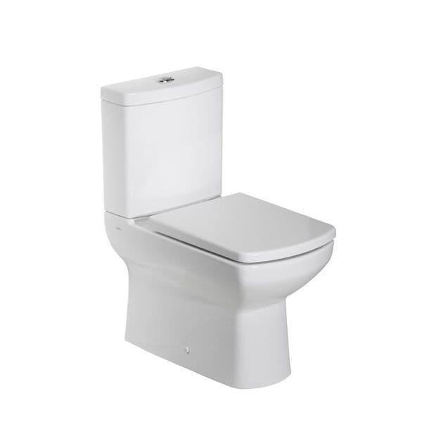 Tavistock Vibe Fully Enclosed Close Coupled WC Pan, Cistern & Soft Close Seat