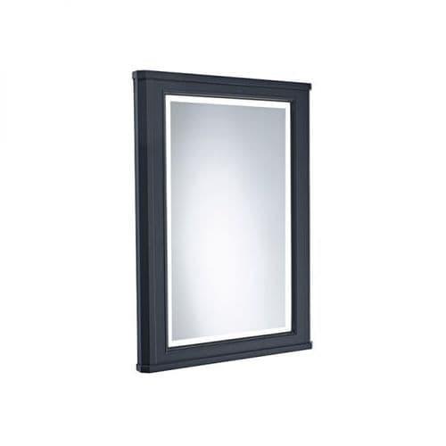 Tavistock Vitoria 450mm Framed Illuminated Mirror Matt Dark Grey