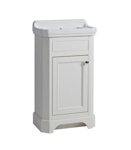 Tavistock Vitoria 500mm Cloakroom Unit Linen White