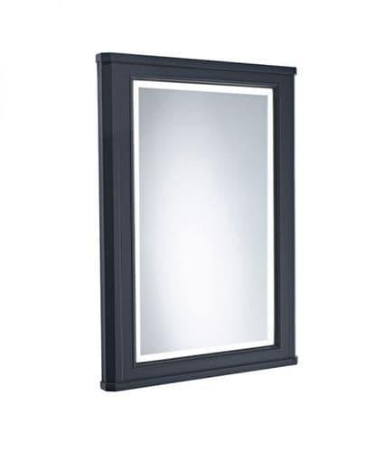 Tavistock Vitoria 600mm Framed Illuminated Mirror Matt Dark Grey