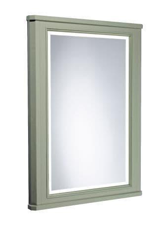 Tavistock Vitoria 600mm Framed Illuminated Mirror Pebble Grey