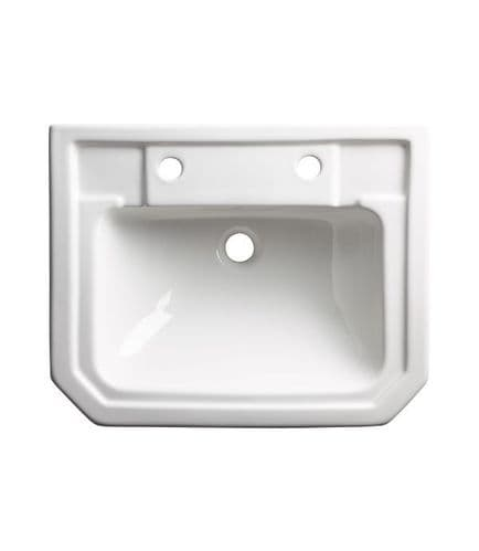 Tavistock Vitoria Two Tap Hole Semi-Countertop Basin