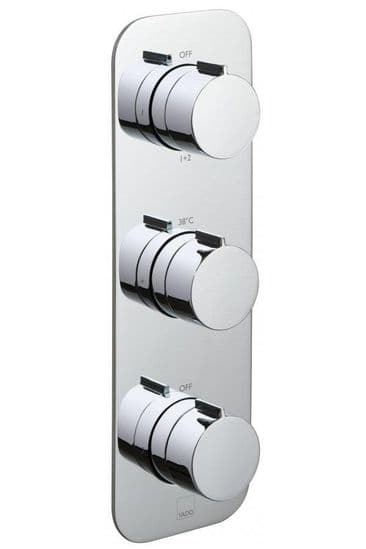 Triple Outlet Shower Valves