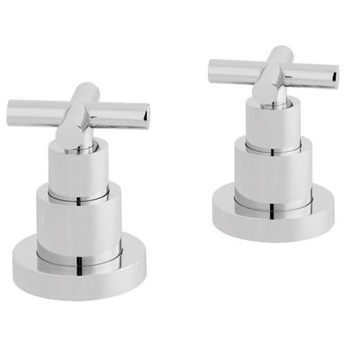 Vado Elements Water Pair of Deck Mounted Valves