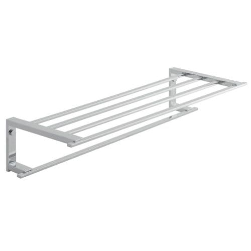 Vado Level 550mm Towel Shelf With Towel Rail