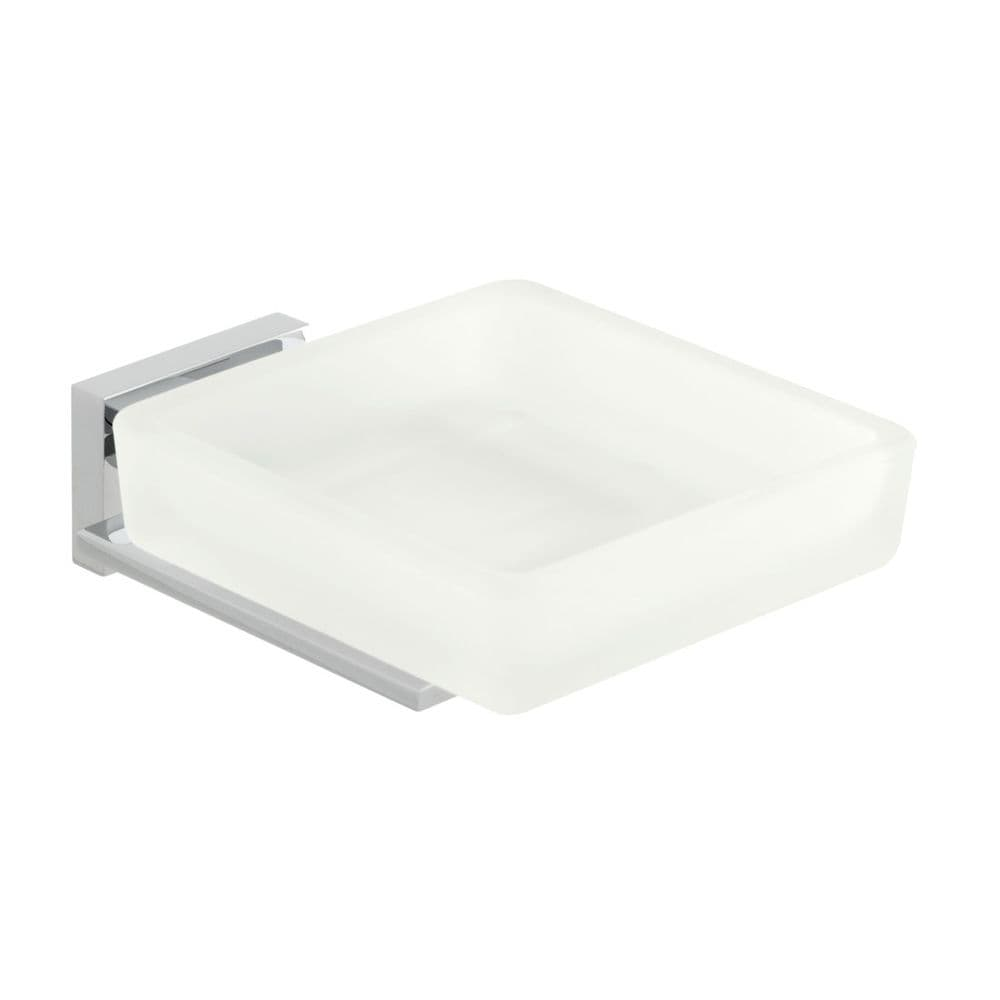 Vado Level Frosted Glass Soap Dish & Holder