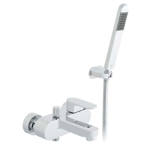Vado Life Wall Mounted Bath Shower Mixer With Shower Kit