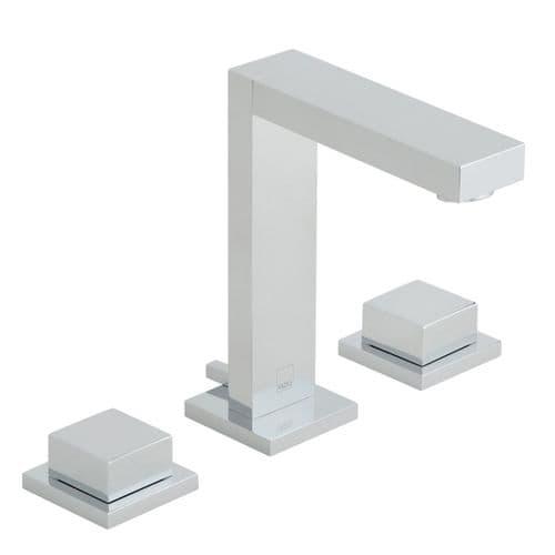 Vado Notion 3 Hole Square Handle Basin Mixer